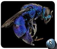 青と黒の飛行昆虫カスタマイズされたマウスパッドファッション長方形マウスパッドファッションゲーミングマウスマット