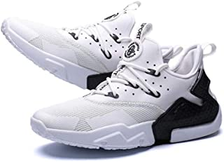 bc7ed0f84c7e20 GLSHI Hommes Sneakers Chaussures De Course Légères Mode Marche Jogging Gym  Confortable Respirant Formateurs Chaussures De
