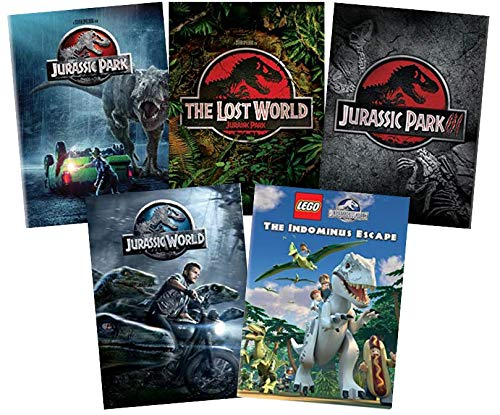 Ultimate Jurassic Park DVD Collection: Jurassic Park / Jurassic Park: The Lost World / Jurassic Park III / Jurassic World / LEGO: The Indominus Escape [Jurassic Park 1, 2, 3, 4 + LEGO Jurassic World]