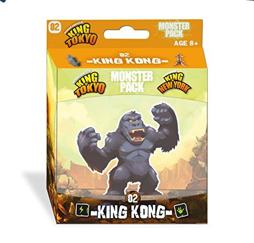 iello 514227 King Kong - Juego de Accesorios para el baño