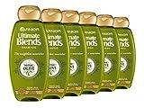 Garnier ultimate blends aceite de oliva seco cabello Champú, 360ml, pack de 6