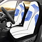 Web--ster-Cars seat covers Fundas de Asiento de Coche Blue Morning Glory Custom...