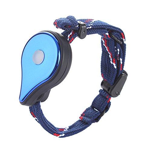 Akaddy Pulsera Bluetooth Muñequera Interactiva Figura Juguetes para iOS teléfonos Android, Azul