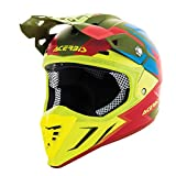 Casco off-road Acerbis Profile 3.0 Snapdragon verde/giallo
