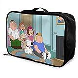 Simpsons Travel Lage Bolsa de viaje ligera maleta portátil Bolsas para mujeres hombres niños impermeable grande Bapa Caity