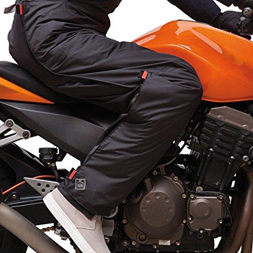 Cubrepantalones panta-fast para motoristas
