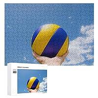 300ピース ジグソ バレーボール ー知育玩具 大人のジグソーパズル 面白い 木のパズル 娯楽遊戯盤遊戯誕生日プレゼント女.男の子
