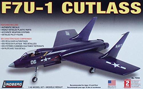 プラッツ LN70506 1/48 アメリカ海軍 艦上戦闘機 F7U-1カットラス