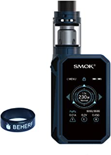Smok G-PRIV 2 Kit 230W G-普里夫2 キットwith 4ml TFV8 X-Baby Tank 電子タバコキット国内正品正規代理店商品-電子タバコ専門店- (青い ブラック)