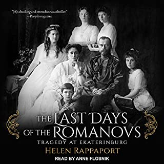 The Last Days of the Romanovs audiobook cover art