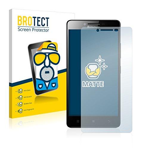 BROTECT 2X Entspiegelungs-Schutzfolie kompatibel mit Lenovo A6000 Plus Bildschirmschutz-Folie Matt, Anti-Reflex, Anti-Fingerprint