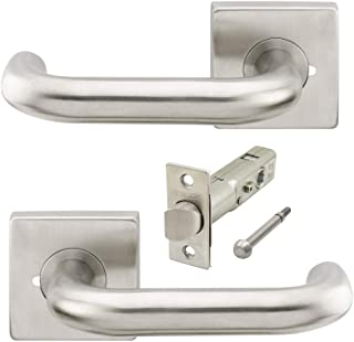 INOX SD310B7-32 SE Square Dead Bolt Polished Stainless Steel