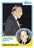 John Paul Getty trading card (Industrialist, Getty Oil) 2009 Topps Heritage #93