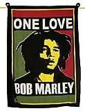 Handicrunch Bob Marley mur Tapisserie noir Wall Decor Art Poster Taille Mûr cadeau indienne de 40 x 30 pouces