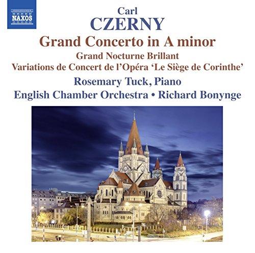Grand Concerto en la Mineur 214/Grand Nocturne Brillant 95/Variations de Concert sur la Marche des Grecs de l Opéra Le Siege de Corinthe de Rossini OP 138