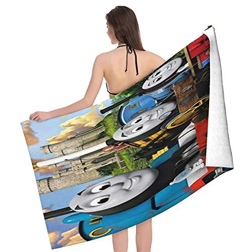 Cute Phones Thomas And Friends - Toallas de algodón de bambú para mujer, con cierre y bolsillo, bata de baño y toalla de ducha