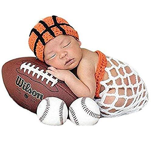 Disfraz de baloncesto para bebés de 0 a 6 m