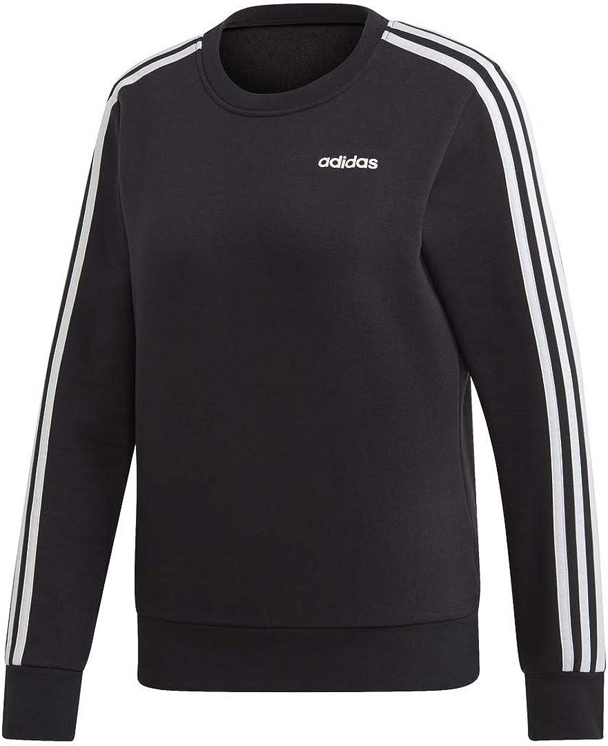 adidas Women's Essential 3-stripes Fleece Sweatshirt