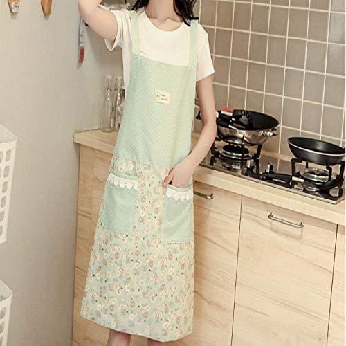 CXL Schürze Mode ölbeständige wasserdichte Restaurant Küche Kochband Schürze niedlichen Erwachsenen Cafe dünne Schürze