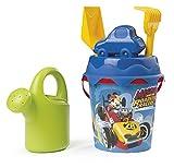 Mickey y Los Superpilotos- Cubo de Playa Completo (Smoby 862074)