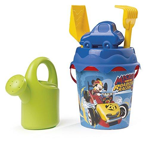 Mickey y Los Superpilotos- Cubo de Playa Completo (Smoby 862