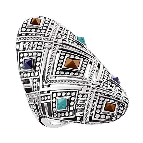 THOMAS SABO Damen-Ringe 925 Sterlingsilber mit '- Ringgröße 58 TR2128-361-7-58