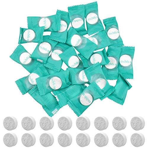 50 Stück Einweg Komprimiertes Handtücher, 20 x 20 cm Tragbarer Komprimiert Handtuch Tabletten Gesichtstücher, Vliesstoffe Reisehandtücher Waschlappen für Haus Reisen Gesundheit Outdoor Sport