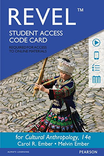 Revel for Cultural Anthropology -- Access Card (14th Edition)