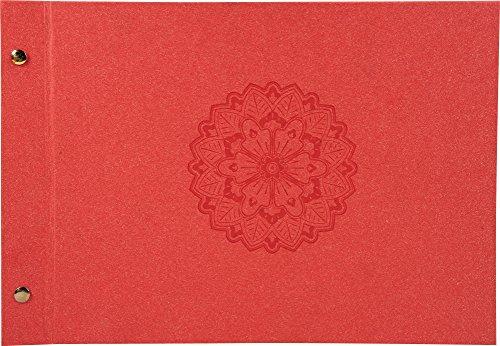 Exacompta 60047E Mandala Album Photos à Vis 40 Pages Noires Cristal 32 x 22 cm