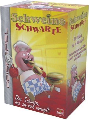 Goliath 30259012 - Schweine Schwarte Reisespiel
