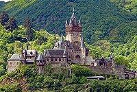 大人のためのジグソーパズルコッヘムモーゼル城ドイツパズル1000ピース木製旅行お土産ギフト