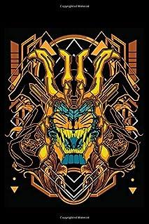 CyberPunk Notebook: Composition notebook,Cyberpunk journal, samurai tiger Robot, Diary, 6x9 Inches 120 pages