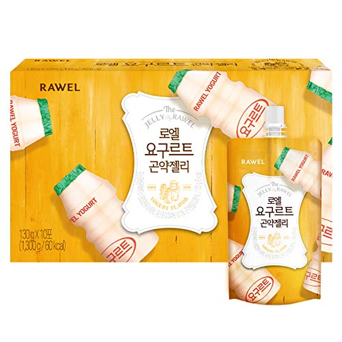 Rawel Delicous Diet Konjac Jelly 1box / 10packs / Dietary Supplement for Weight Loss/Low Calories (Yogurt)