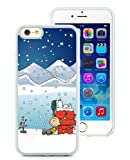 iPhone 6 Case,Peanuts Christmas White iPhone 6S 4.7 Inches Cover Case,Fashion TPU Case