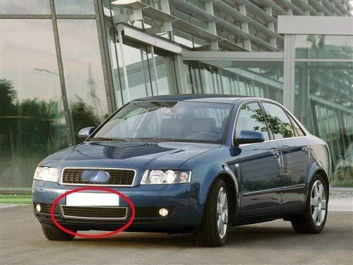 BLH-AMY Rejilla De Luz Antiniebla Rejilla De Luz Antiniebla Delantera Inferior Lateral para Audi A4 B6 Limousine 01-05 Rejilla De Luz Antiniebla Rejilla De Luz Antiniebla (Color: Derecha)