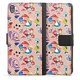 Etui Compatible avec Sony Xperia E5 Etui Folio Etui magnetique Disney Alice au Pays des Merveilles...