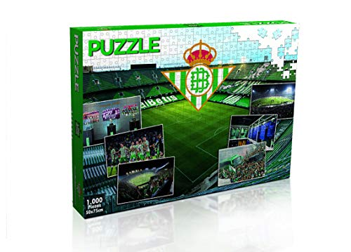 ELEVEN FORCE Puzzle Real Betis 1000 Piezas (11886), Multicolor