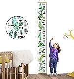 Xinyanmy Tableau de la Croissance des Enfants Bois Toise Murale Enfant Amovible Bébé Toise murale à suspendre Règle Pour Fille Garçon Chambre D'enfant Décoration