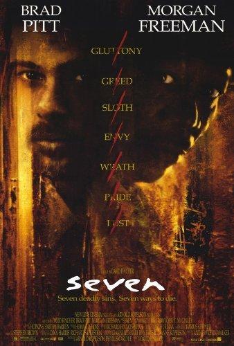 Seven POSTER Movie (27 x 40 Inches - 69cm x 102cm) (1995)