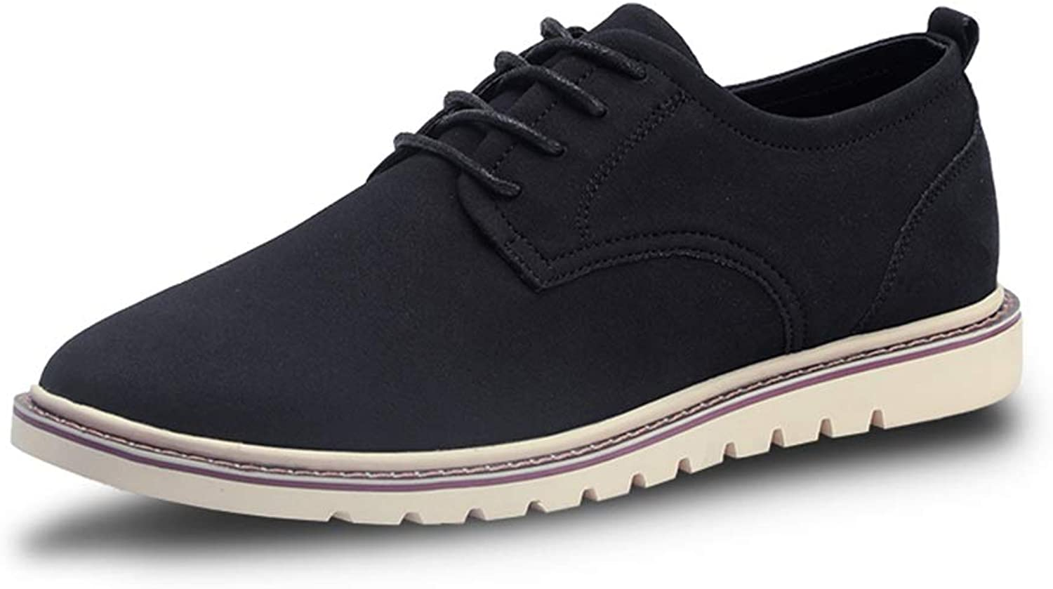 Ino Sneaker shoes Oxford shoes for Men Formal shoes Lace Up Style Microfiber Leather Leisure Sports Style Pure color