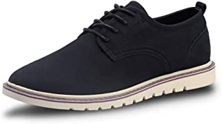 2019 Mens New Lace-up Flats Men's Oxford Shoes Formal Shoes Lace Up Style Microfiber Leather Classic Pure Color Fashionable Casual Sports British Style