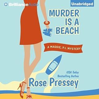 Murder Is a Beach audiobook cover art