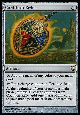Magic The Gathering - Coalition Relic - Duel Decks: Phyrexia vs The Coalition