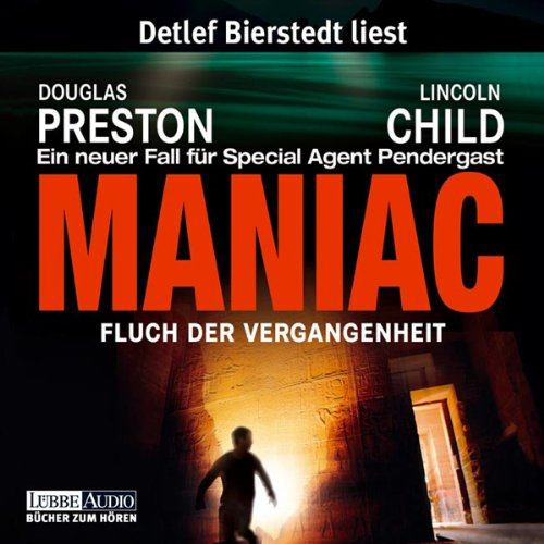 Maniac: Fluch der Vergangenheit audiobook cover art