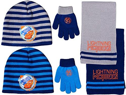 Cars - Set van 3 - Muts, sjaal, handschoenen