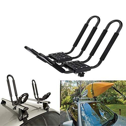 Chuanfeng Kajak Dachträger Auto Universeller Kajak Dachträger Ladehilfe Kanu Dachträger Gepäckablage Für Kayak Canoe Paddle Boat Surf Ski