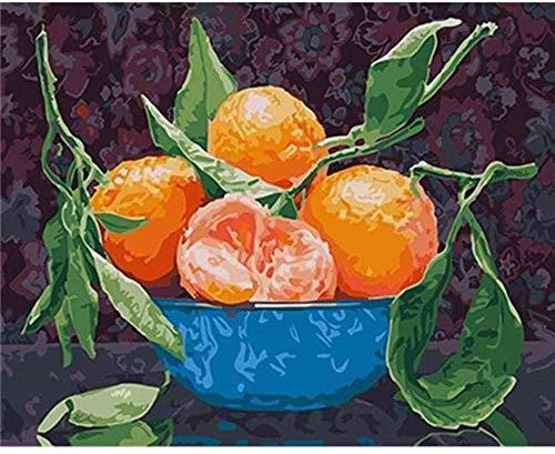 Houten puzzel 1000 stukjes,oranje Fruitschaal Geschikt Voor Tieners En Volwassenen Houten Puzzel Unieke Woondecoraties En Cadeaus Diy