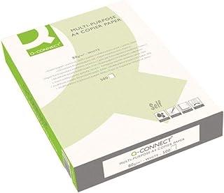 comprar comparacion Q Connect KF01087 - Papel para impresora de tinta A4, Blanco, Paquete de 1 x 500 hojas