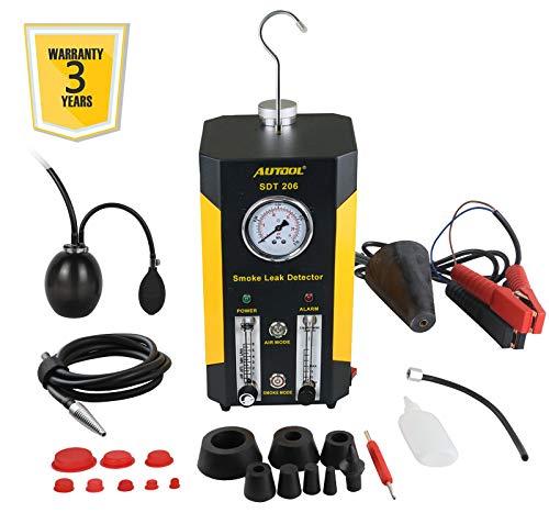 Autool SDT-206 Auto EVAP Lecks Testmaschine 12 V Fahrzeug Rohre Kraftstoffleck-Detektor Diagnosegerät für Auto Motorrad Boot