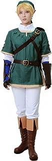 Men's Link Cosplay Costume Green